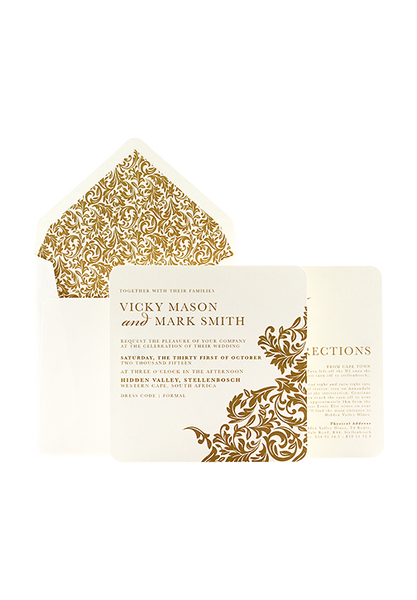 Victoriana Invitation Gold Edition