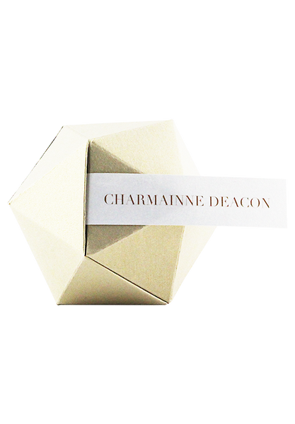 Hexagon Geometric Box Placecard