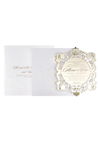 Alexia - Perspex and Gold Foiled invitation