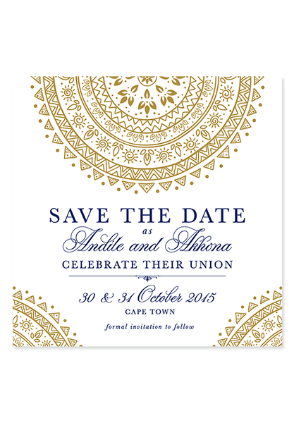 SA Chic Digital Save The Date