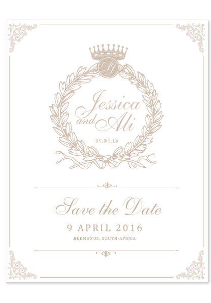 Jessica Royale Digital Save The Date