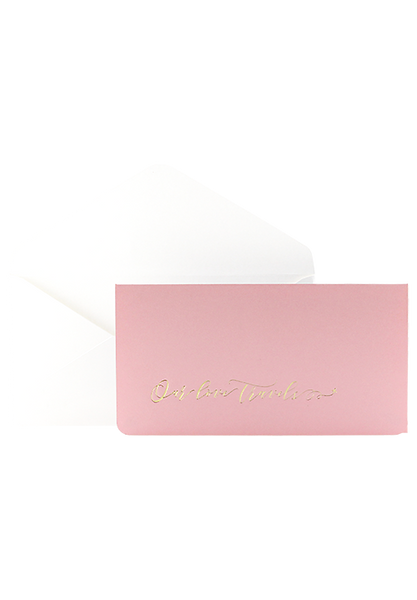 Boarding Pass Invitation - Our love travels - Candyfloss Pink