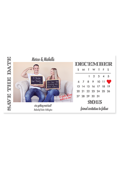 I Stole Your Heart - Digital Save The Date