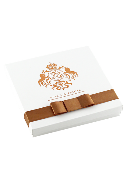 Chestnut Boxed Invitation
