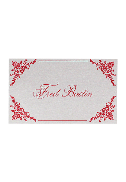 Cerise Place Card