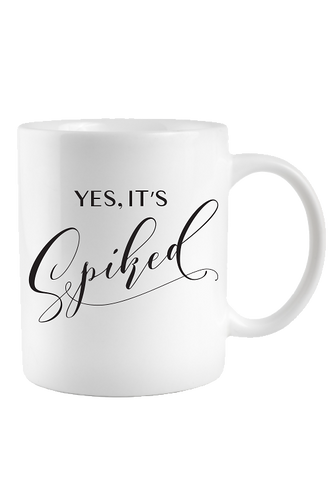 Yes, It's Spiked Mug