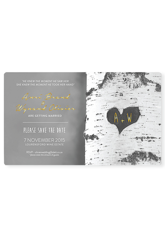 Love Note Digital Save The Date