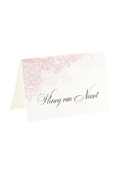 Heather Place Card