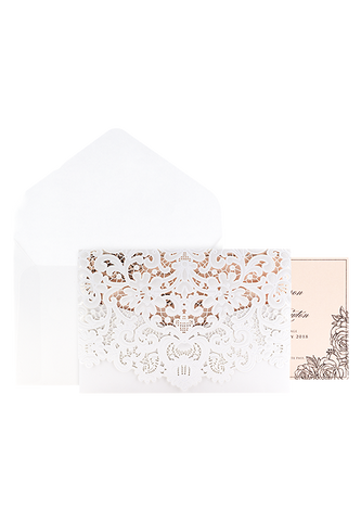 Monaco Invitation - Blush Floral Edition