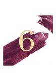 Marsala Swash Table Number