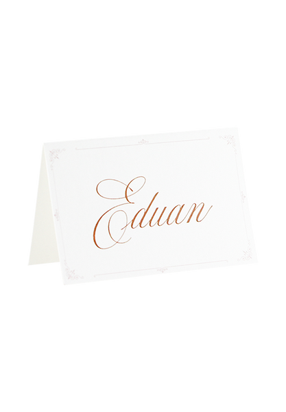 A Captivating Voyage - Place Card