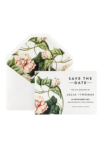Botanica Save The Date