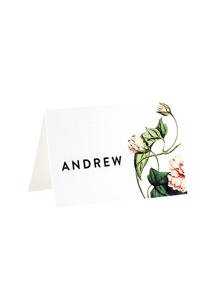 Botanica Place Card