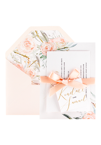 Belle Blush Invitation