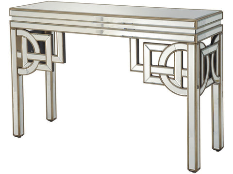 231150 Claridge Deco Mirrored Console