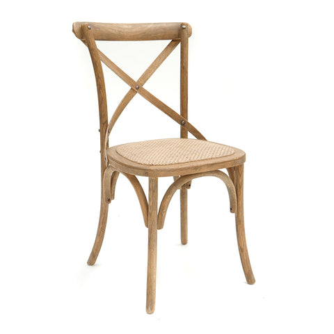 Cross back Barking Chair