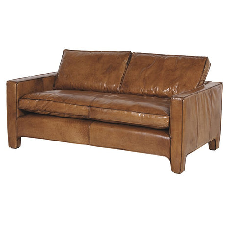 Italian Leather 2 Seater Sofa