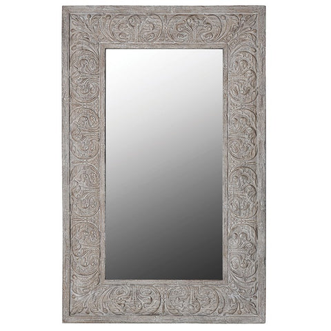 LARGE DECORATIVE FRAME MIRROR