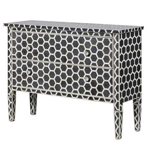Honeycomb Mosaic 2 Drawer Chest