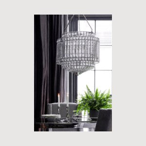 Buckingham Round Crystal Chandelier