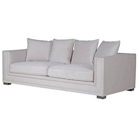 Ogden Soft Grey 3 Seater Sofa