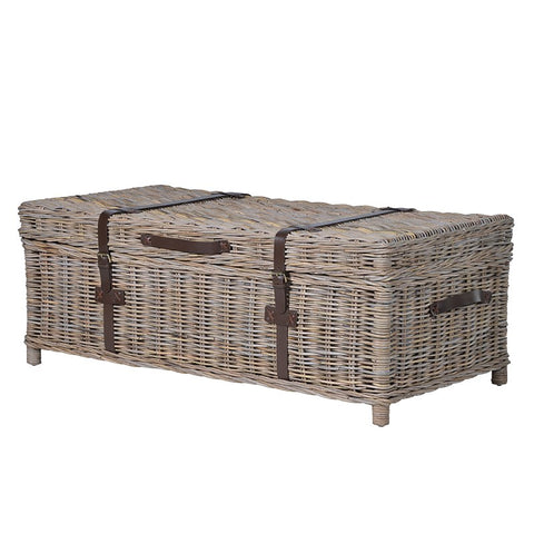 WICKER GREY CAPE COD COFFEE TABLE