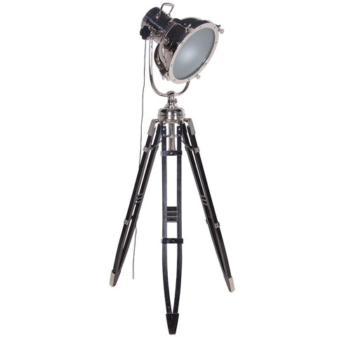 Large Aluminium Spotlight with Tripod