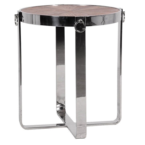 ROUND END TABLE STEEL FRAME