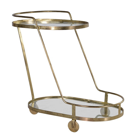 Oval Drinks Trolley