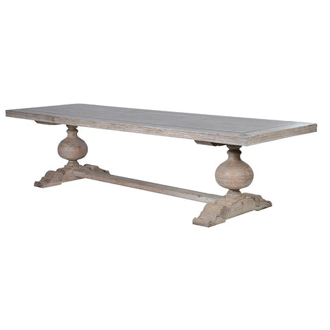 Antique effect  Dining Table with Motifs