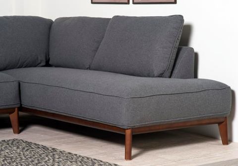 Kendall Corner Sofa - Dark Grey