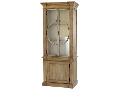 Homestead Glass Fronted Cabinet
