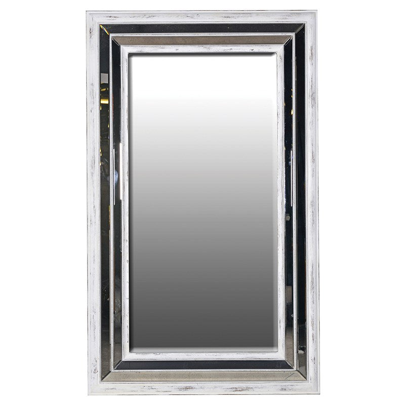 Large Mirrored Frame Mirror - Amber and Ellis