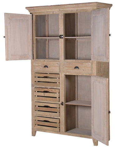 Distressed Multi-Storage Cupboard