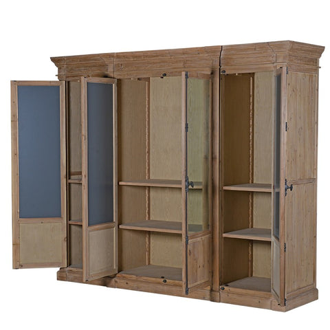 Wood and Mirror Wardrobe