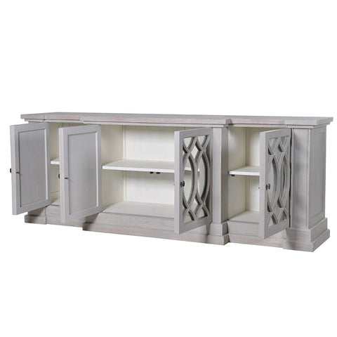 Wide Glazed Sideboard