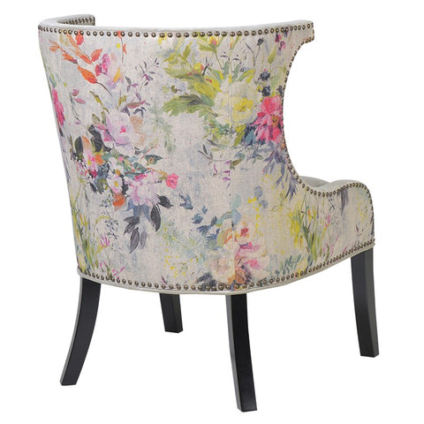 Broughton Zink Studded Chair
