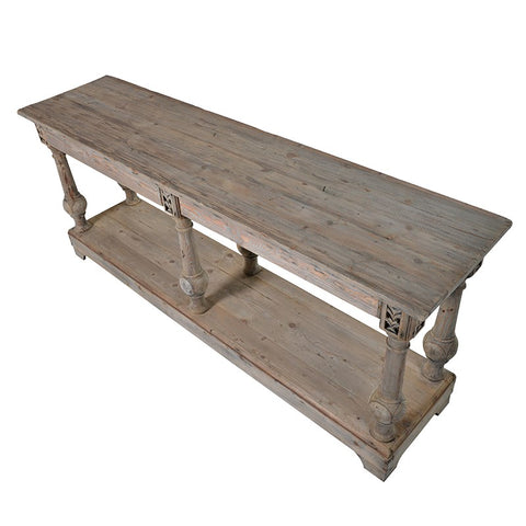 Colonial Reclaimed Pine Console Table