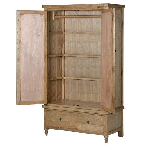Ribchester Oak Double Wardrobe