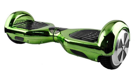 Green Chrome Swegway Hoverboard Segway Balance Board