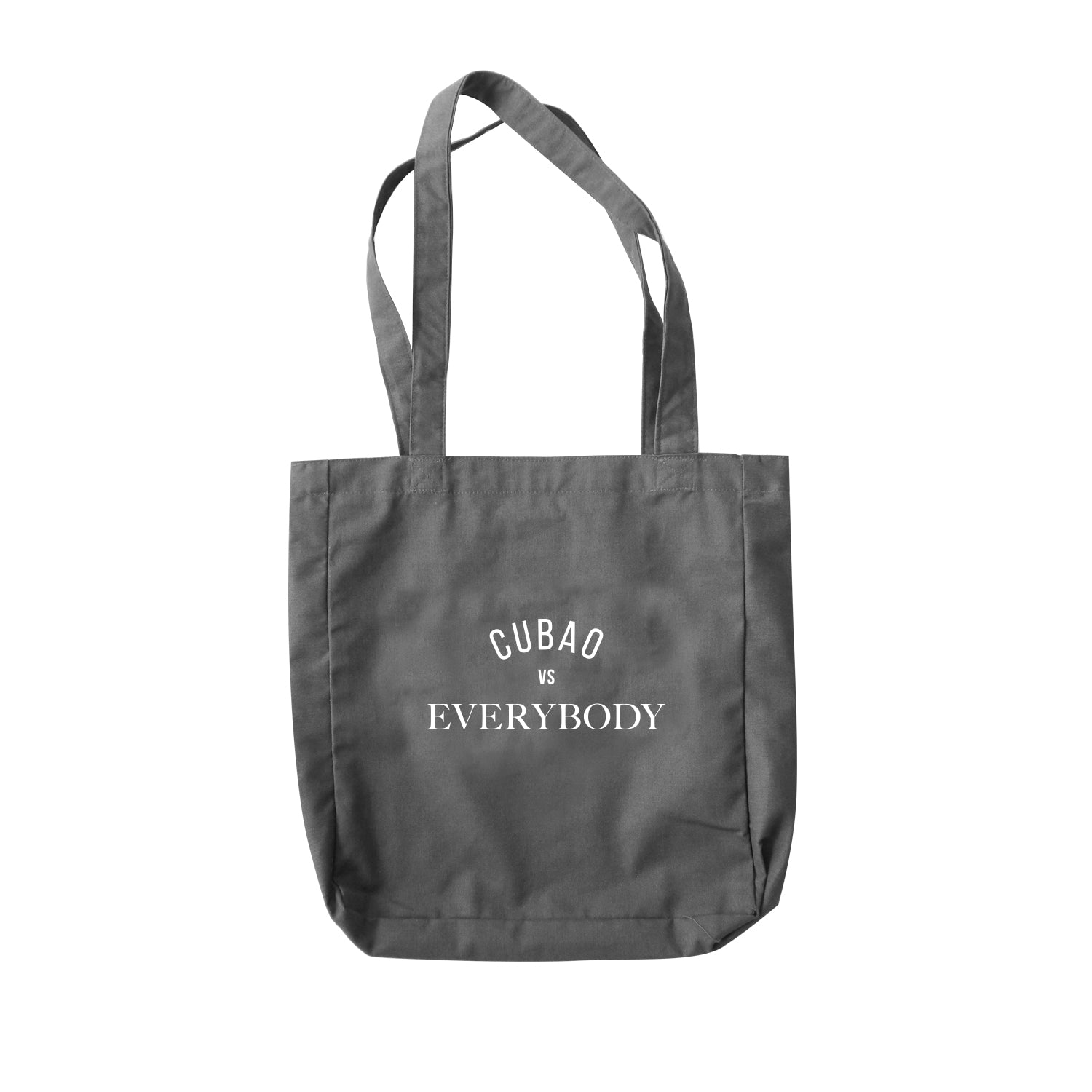 Cubao VS Everybody Grey (Tote)
