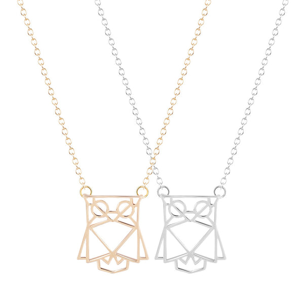 Origami owl pendant charm necklace chain colour options silver rose gold