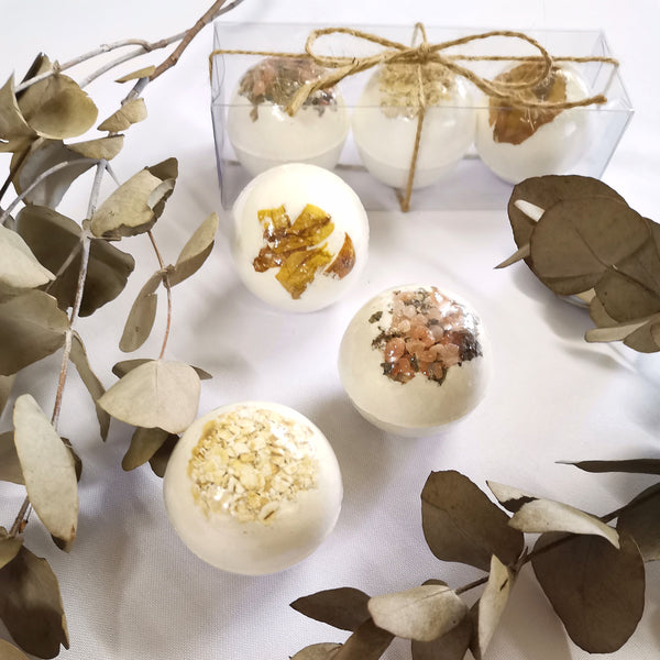Botanical Bath Bomb Set
