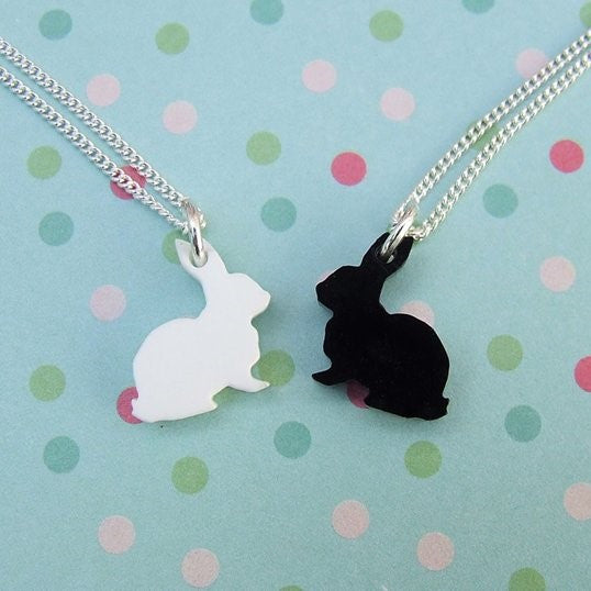 Perspex necklaces