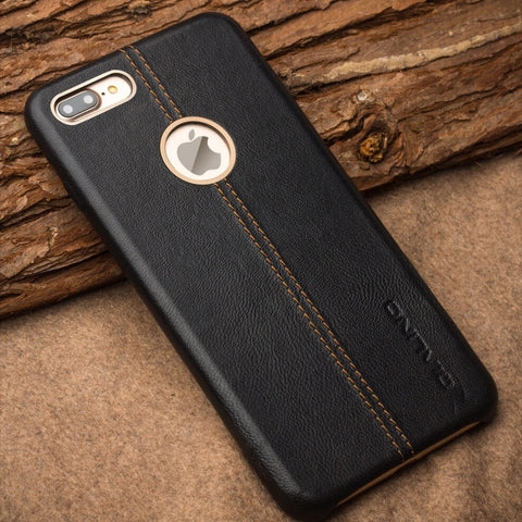 iPhone 7 Plus Leather Back Case - Qialino