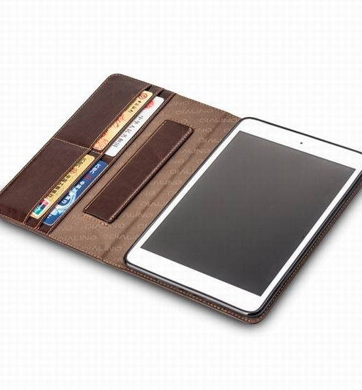 QIALINO Foldable Leather Case for iPad Air & Air 2