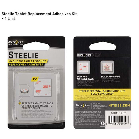 Nite Ize Steelie Tablet Socket Replacement Adhesive Kit