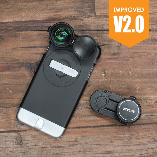 Ztylus Z-PRIME 4K HD LENS KIT V2.0 For iPhone 6/6S and iPhone 6/6S Plus