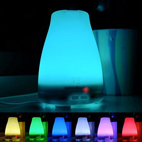Electric Aroma Essential Oil Diffuser 7 Colors 120 ML
