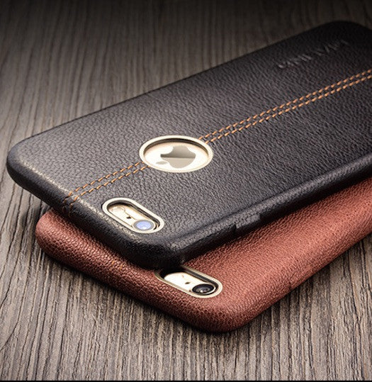 iPhone 6/6S Plus Genuine Leather Back Case Cover - Qialino